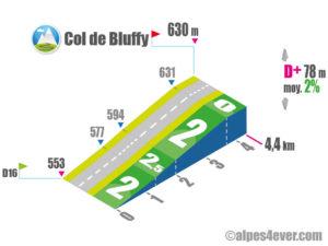 Col de Bluffy / Versant Est
