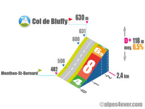 Col de Bluffy / Versant Sud direct