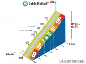 Col du Mollard / Versant Sud