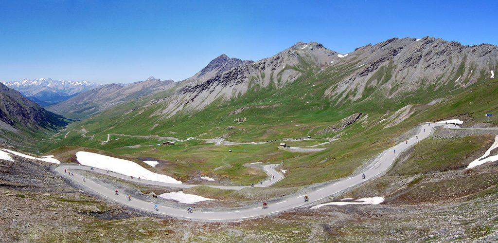 Le final du versant français (photo cyclotourisme.guillestre-tourisme.com)