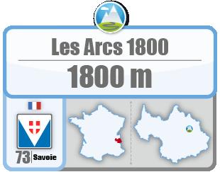 Les Arcs 1800