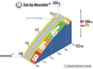 Col de Meselier / Versant Est