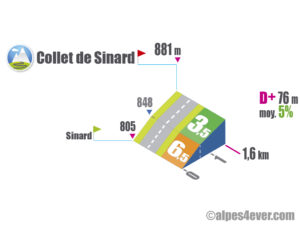 Collet de Sinard / Versant Est
