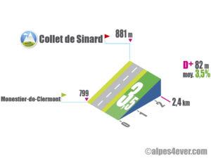 Collet de Sinard / Versant Sud