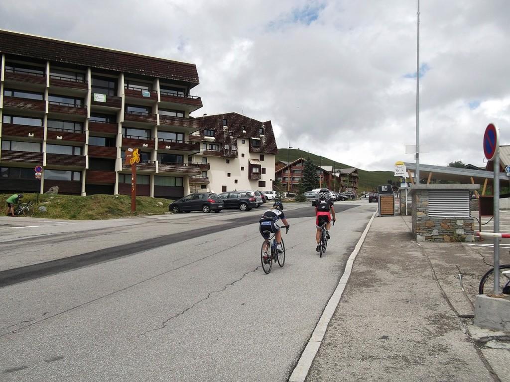 L'arrivée de l'Alpe d'Huez