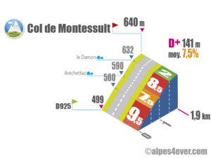 Col de Montessuit / Versant Est