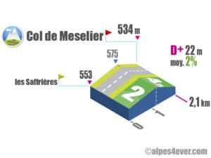 Col de Meselier / Versant Sud