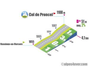 Col de Proncel / Versant Sud
