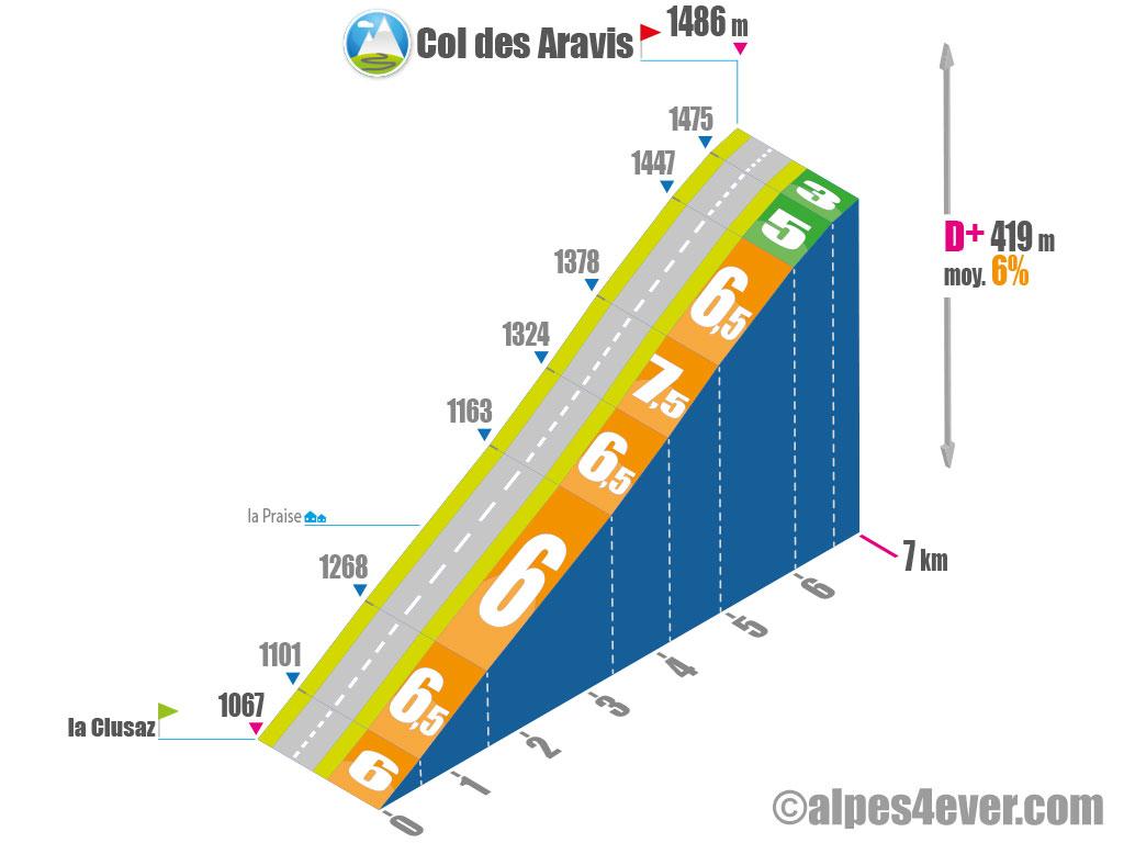 Col des Aravis / Versant Nord
