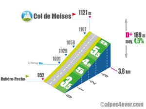 Col des Moises / Versant Sud depuis Habère-Poche